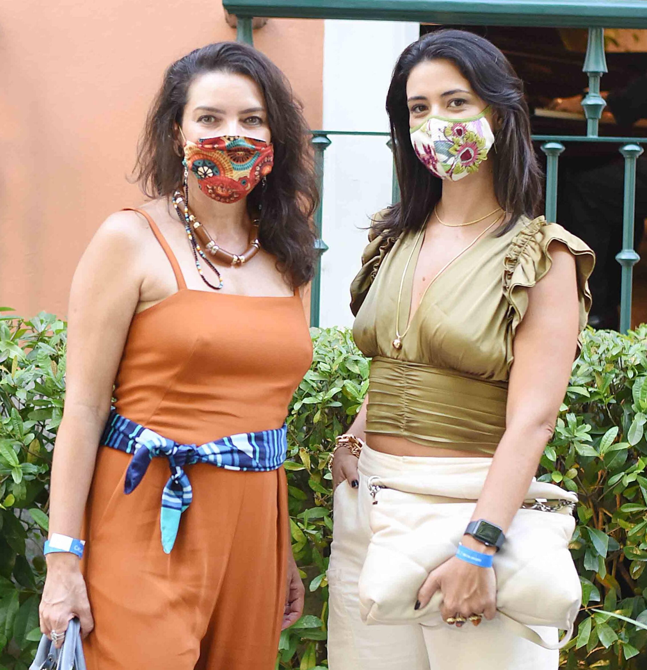 Melissa Jannuzzi e Renata Bitencourt /Foto: Ari Kaye