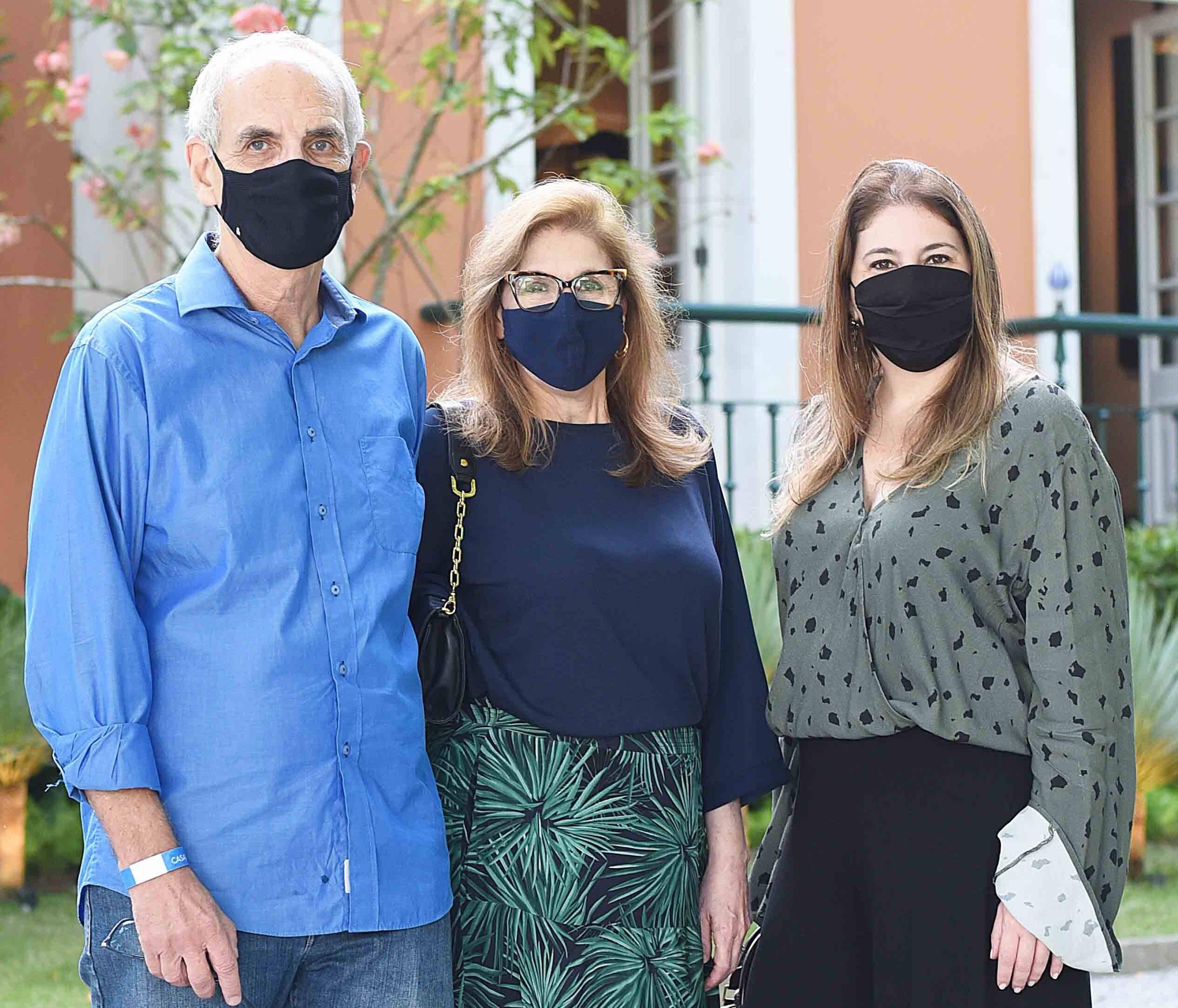 Nelson Vainer, Cinthia Utchitel e Flavia Utchitel /Foto: Ari Kaye