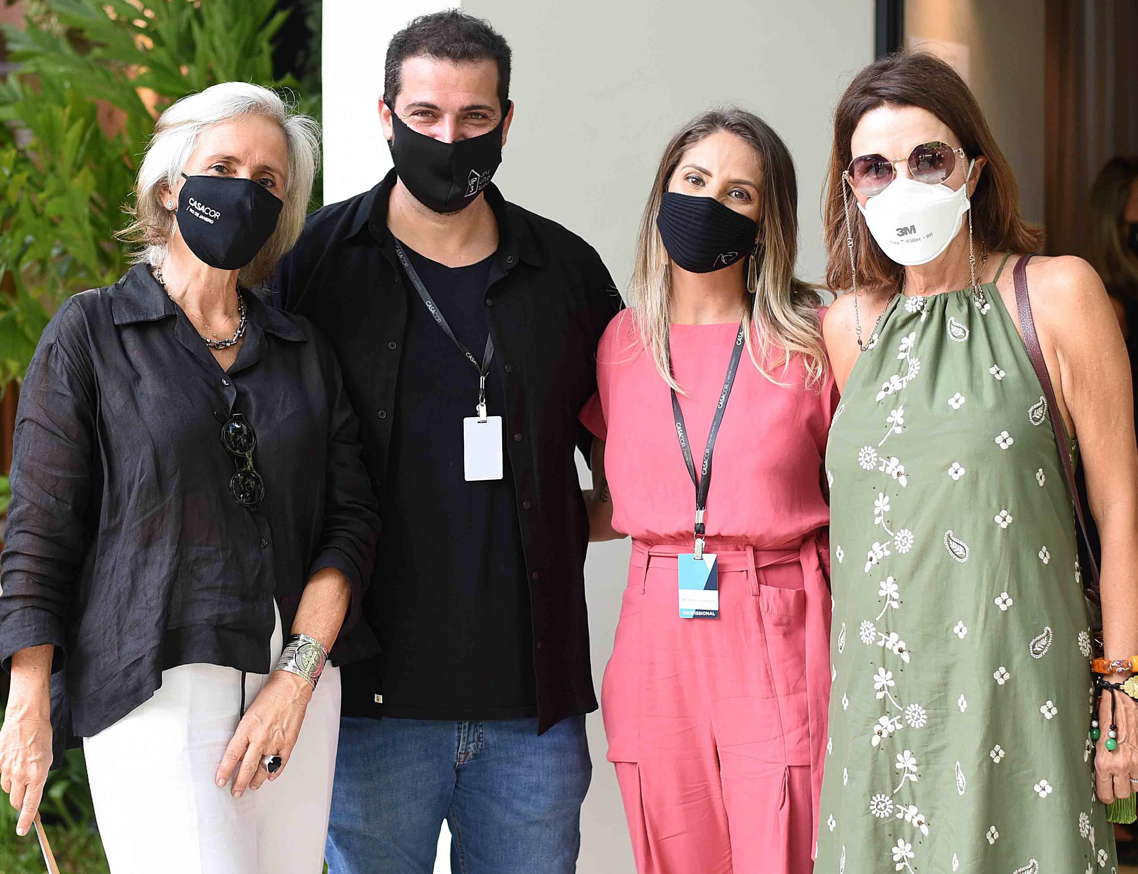 Patricia Quentel, Cadé Marino, Michelle Wilkinson e Patricia Mayer /Foto: Ari Kaye
