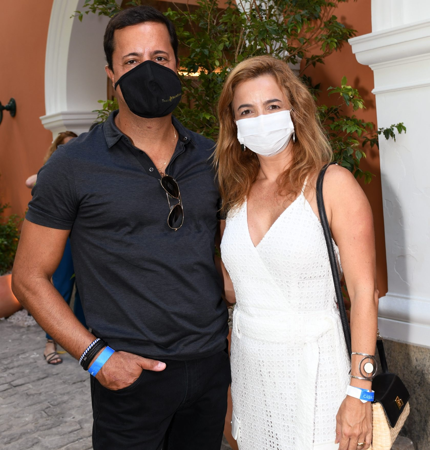 Eduardo Wanderley  e Simone Cadinelli  /Foto: Cristina Granato