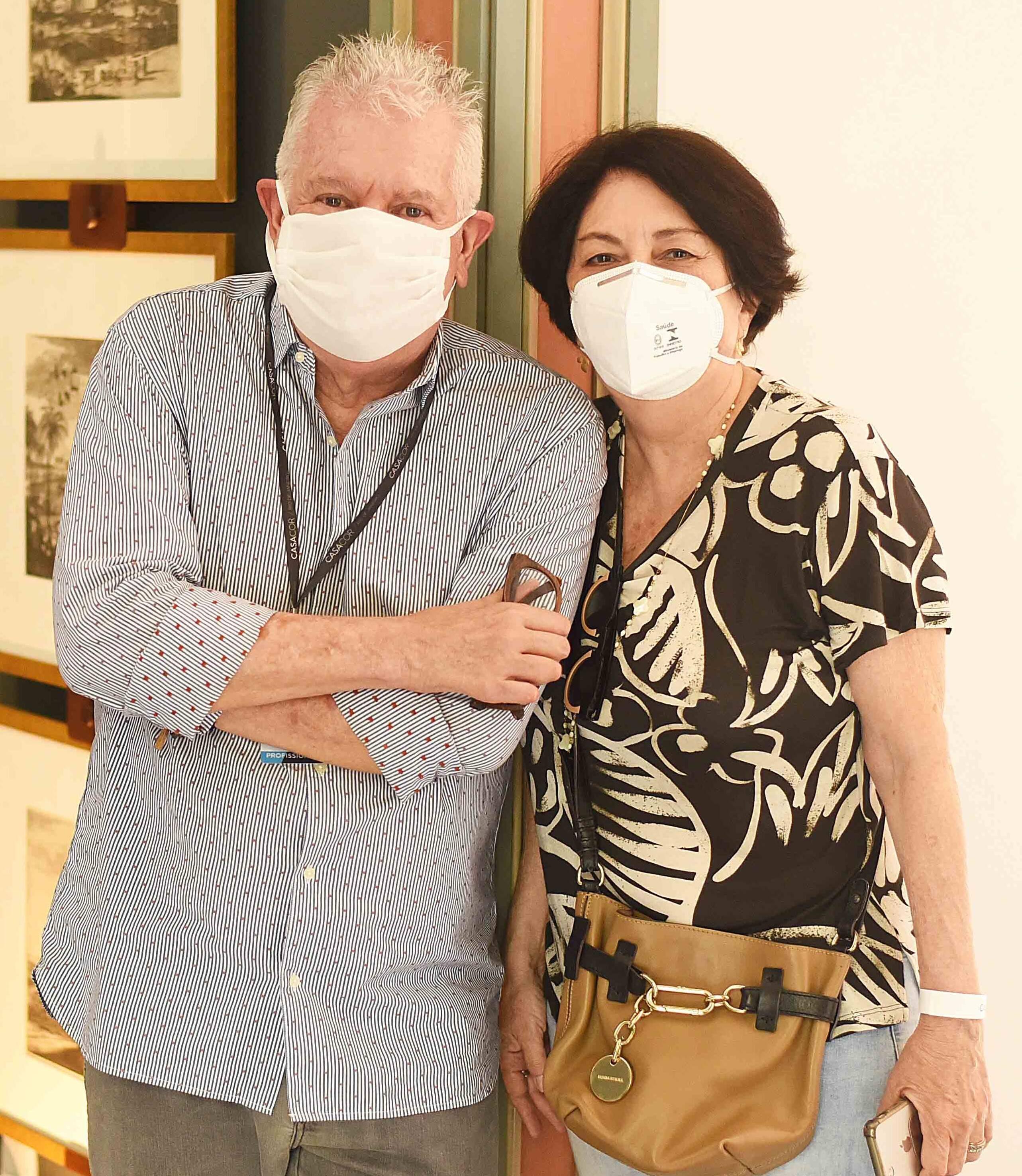 Chicô Gouvêa e Suzete Aché /Foto: Ari Kaye