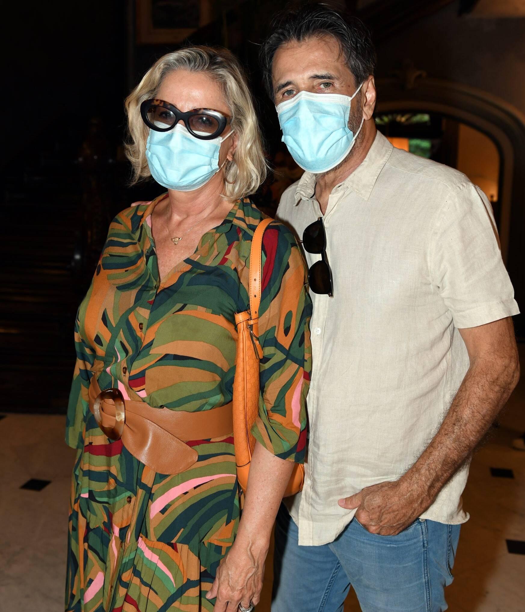 Marcia Peltier e Claudio Pereira /Foto: Cristina Granato