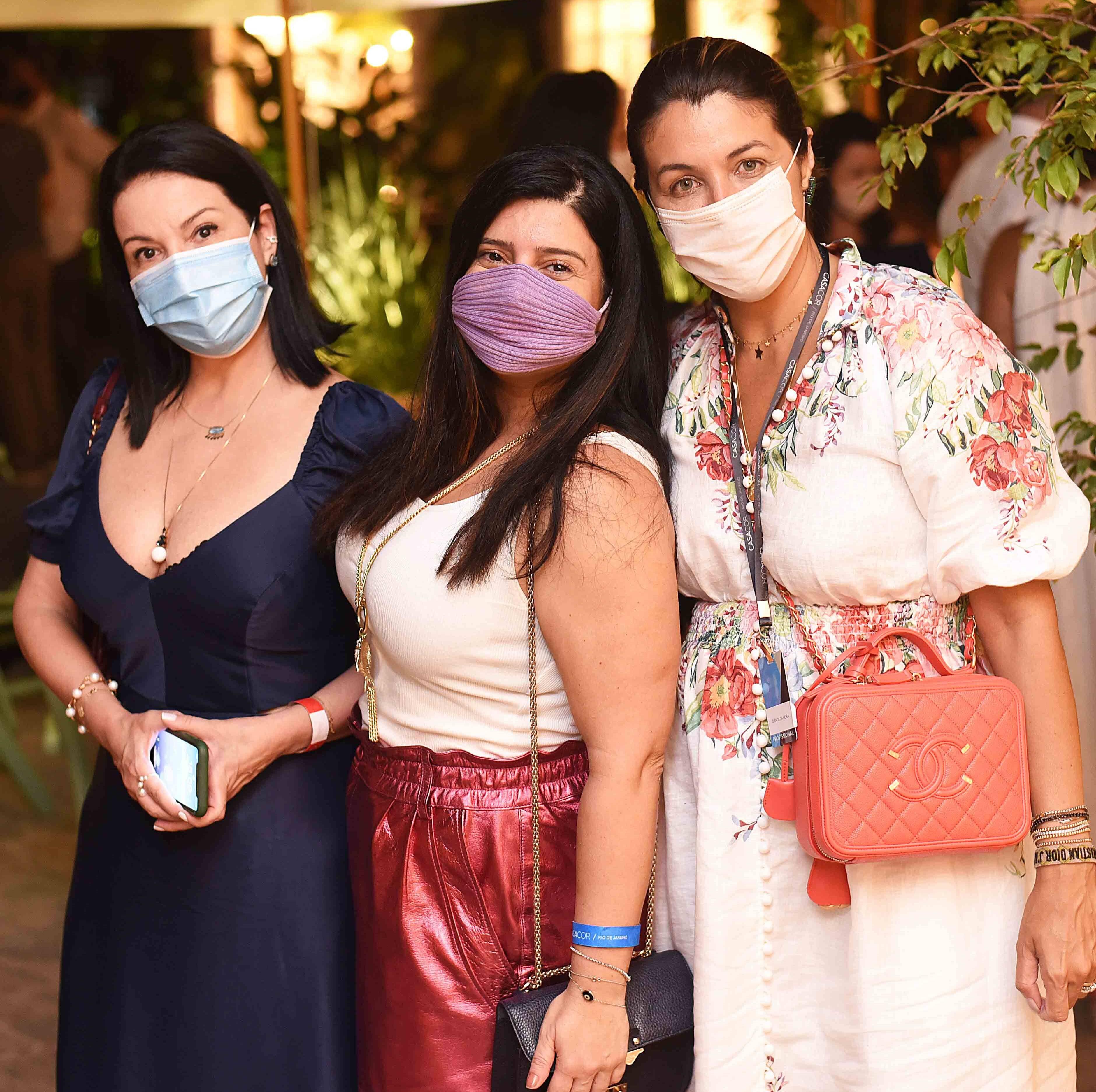 Jacira Pinheiro, Mariana Fonseca e Bianca da Hora /Foto: Ari Kaye