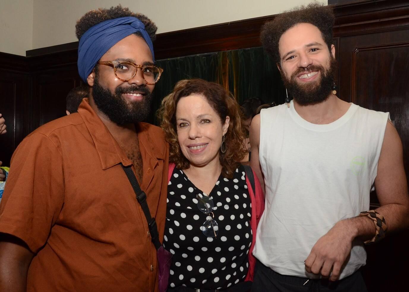 Guilherme Marcondes, Leila Danzingeer e Felipe Abdala /Foto: Marco Rodrigues