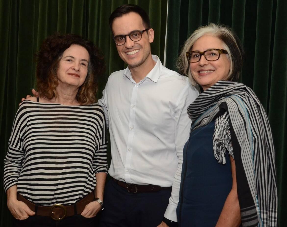 Ana Liberman, André Giacotti e Beth Jobim /Foto: Marco Rodrigues