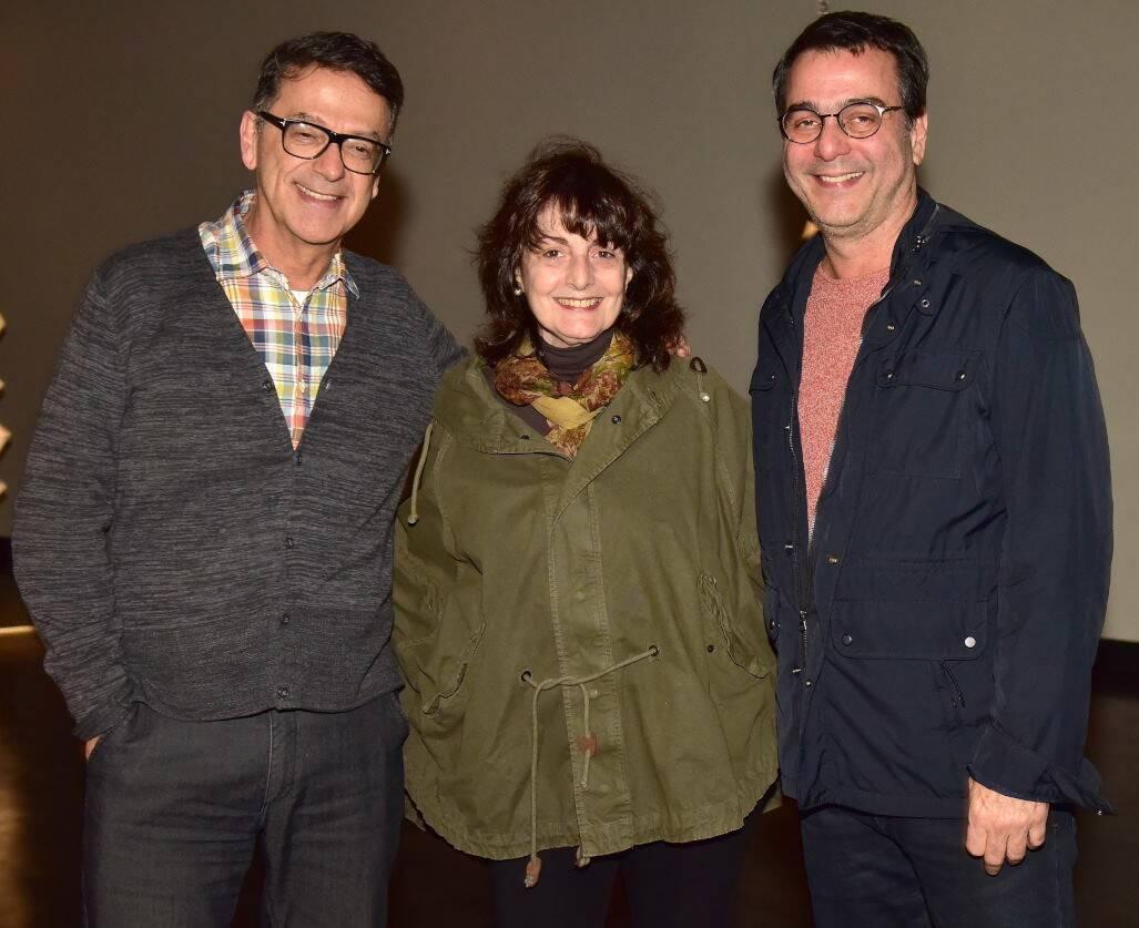 Marcelo Araújo, Eliane Longo e Mauro Saraiva /Foto: Paulo Jabur