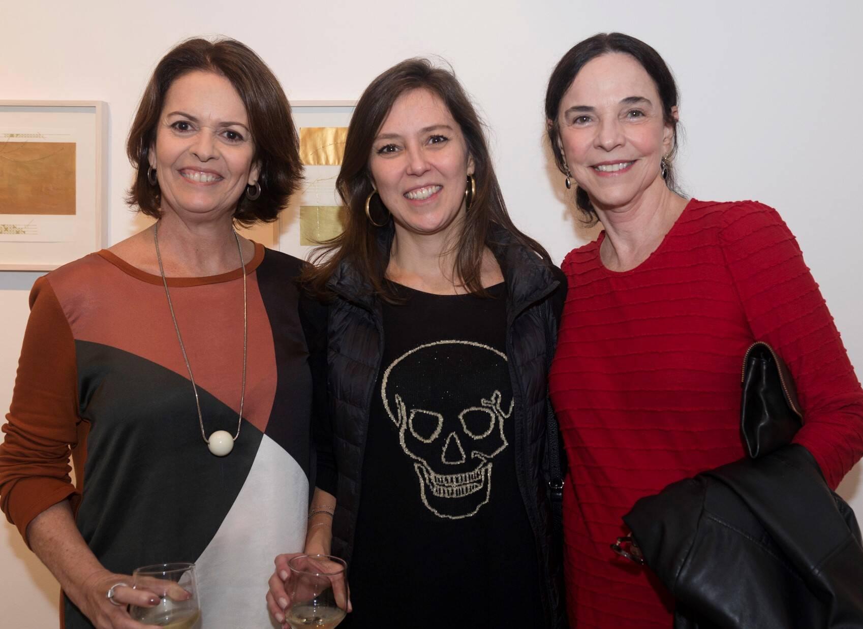 Stella Ramos, Cristina Magalhães Pinto e Cristina Salgado /Foto: Diana Sandes