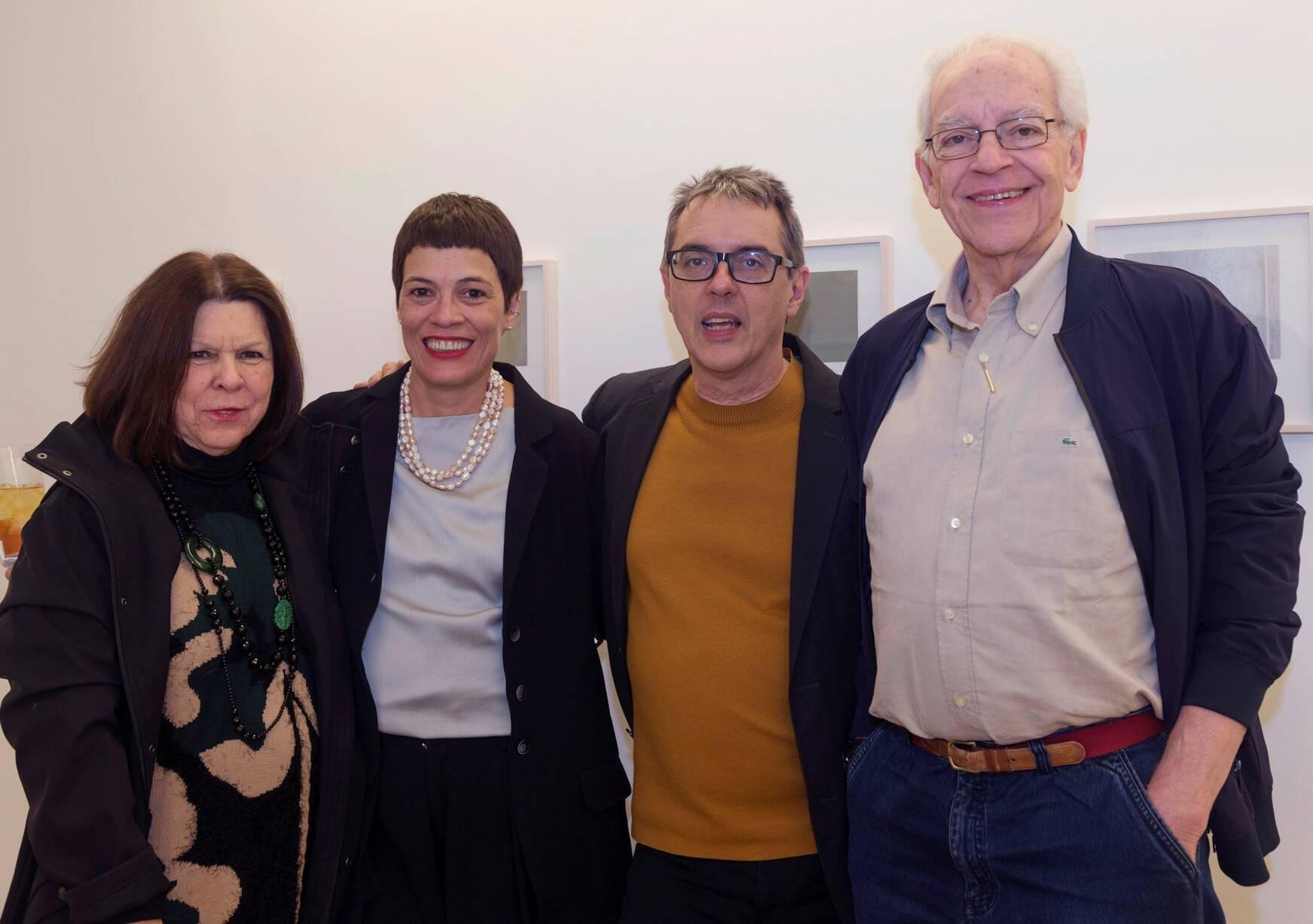 Vanda Klabin, Sandra Ramos, Nuno Ramos e Paulo Bertazzi /Foto: Diana Sandes