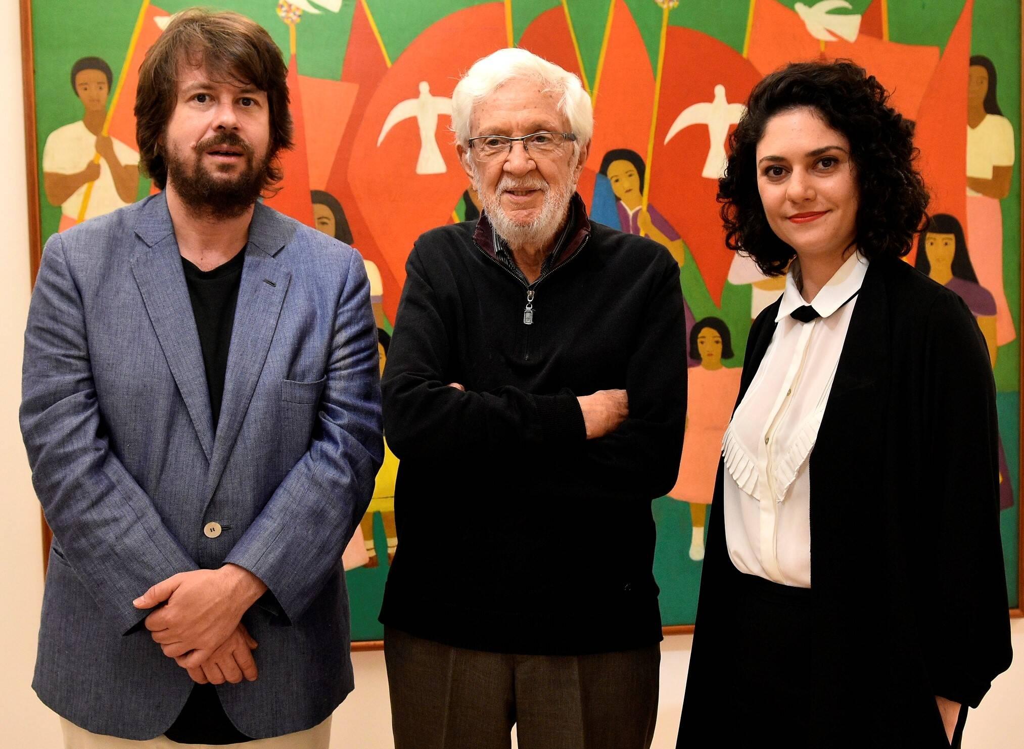 Rodrigo Moura, Frederico Moraes e Isabella Rjeille  /Foto: Roberto Teixeira
