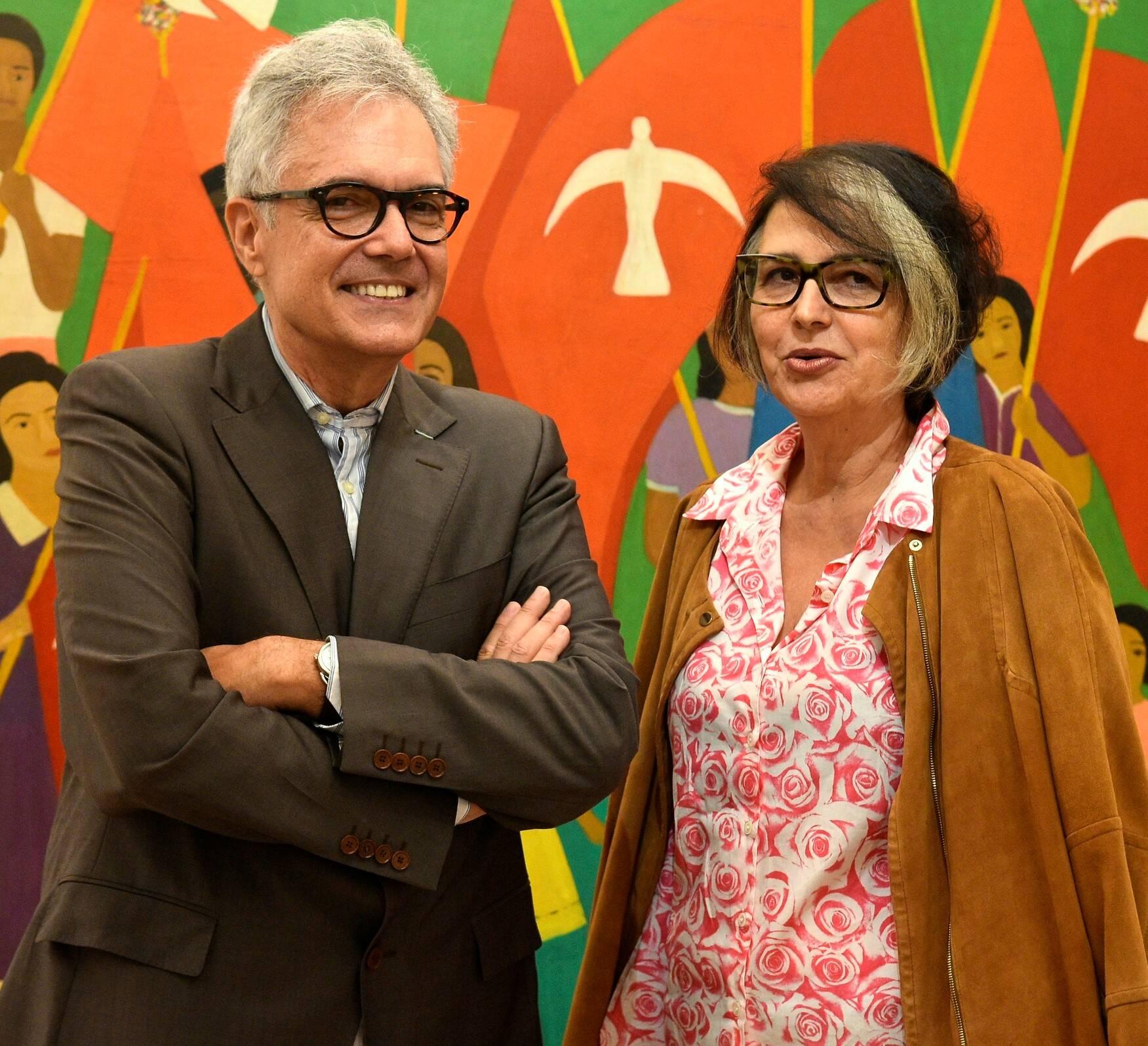 Lauro Cavalcanti e Beth Jobim  /Foto: Roberto Teixeira