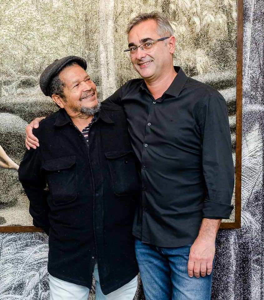 Walter Firmo e Cassio Vasconcellos  /Foto: Bruno Ryfer