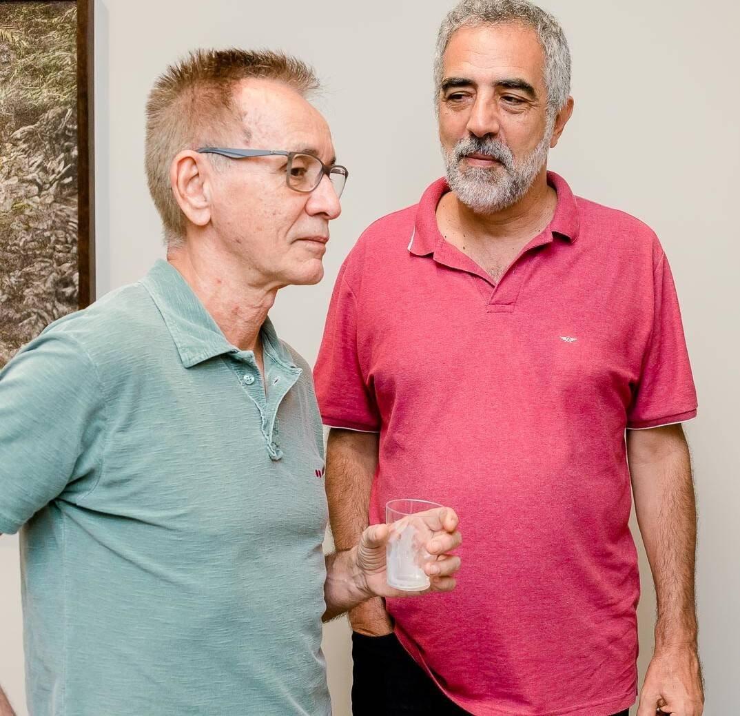 Wilson Nóbrega e Ricardo Bhering  /Foto: Bruno Ryfer