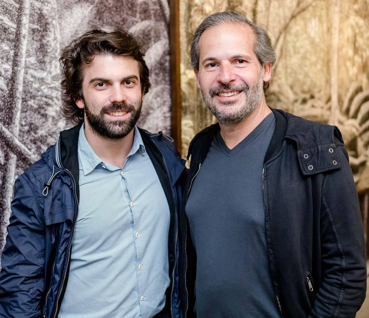 Bernardo Souza Leão e Alexandre Roesler  /Foto: Bruno Ryfer