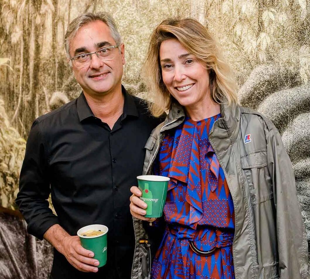 Cassio Vasconcellos e Gabriela Moraes  /Foto: Bruno Ryfer