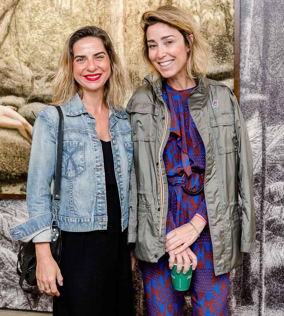 Fernanda Sattamini e Gabriela Moraes  /Foto: Bruno Ryfer