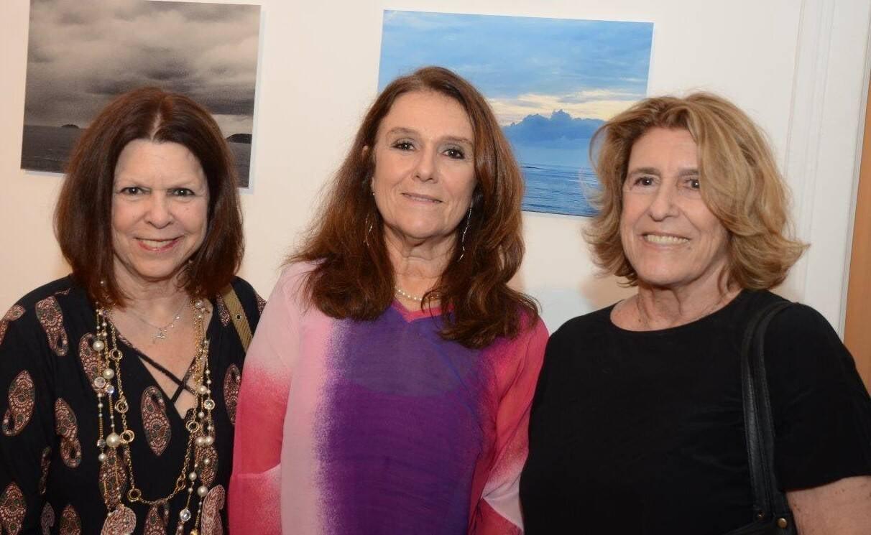 As irmãs Vanda Klabin, Monica Mangia e Sonia Ribeiro de Castro /Foto: Marco Rodrigues
