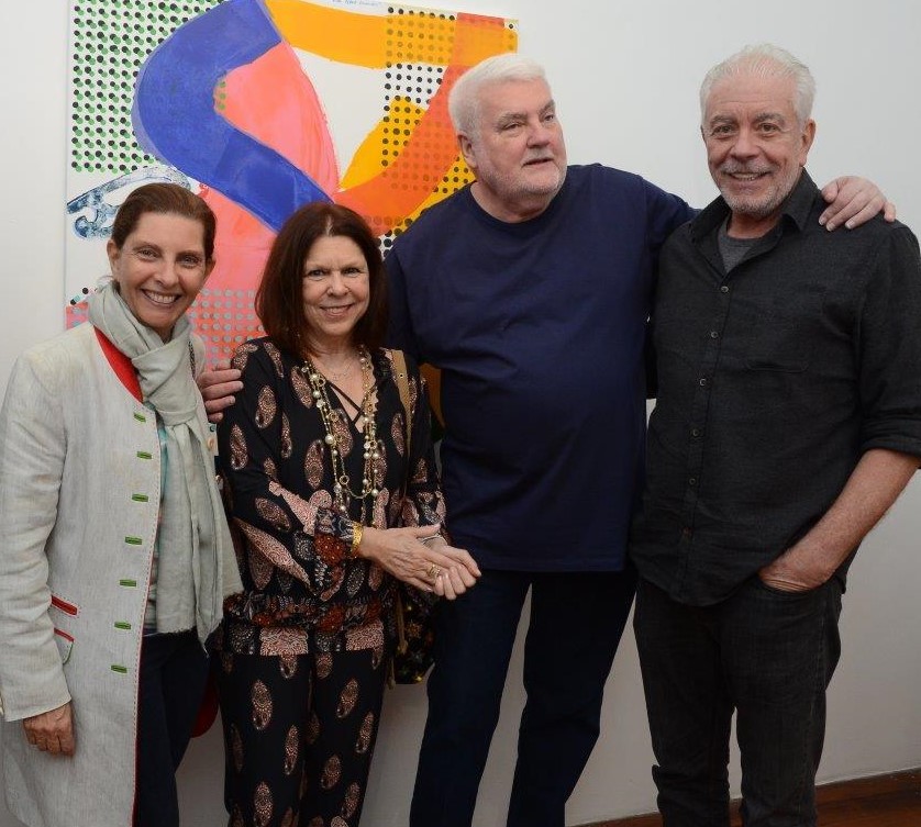 Kitty Assis, Vanda Klabin, John Nicholson e Antonio Bernardo /Foto: Marco Rodrigues