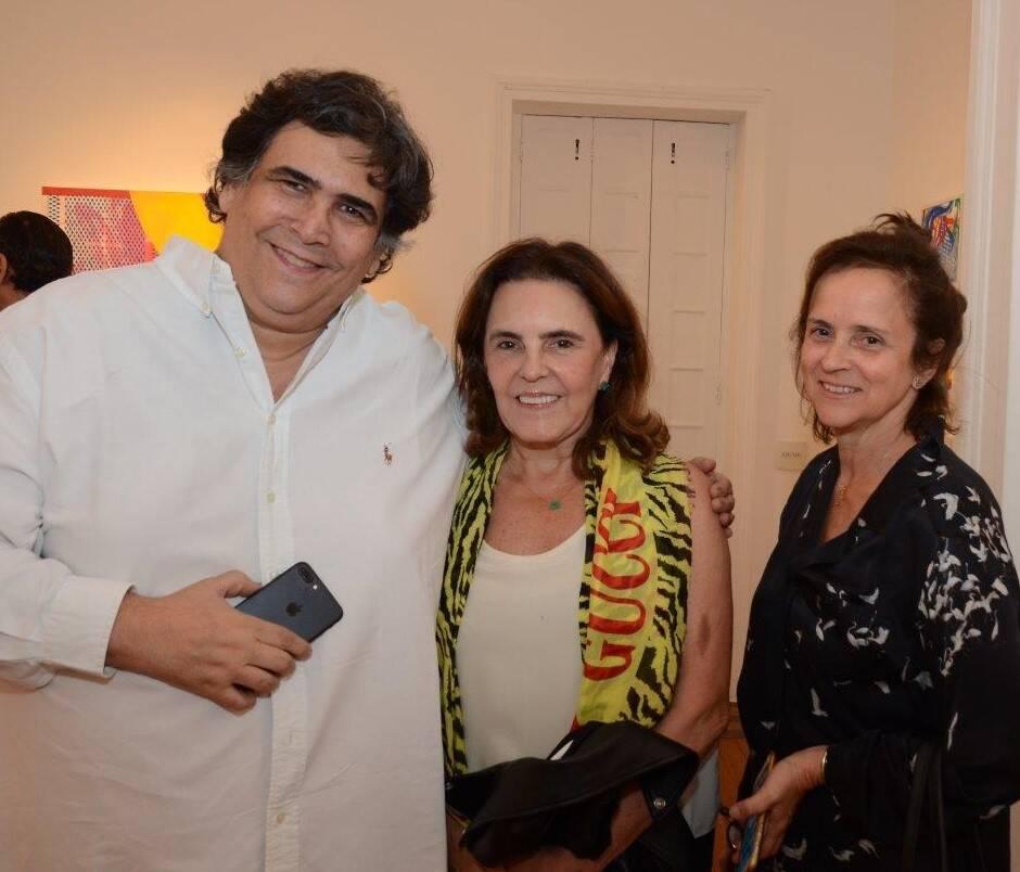 Antonio Neves da Rocha, Vera Andrade e Patricia Quentel /Foto: Marco Rodrigues