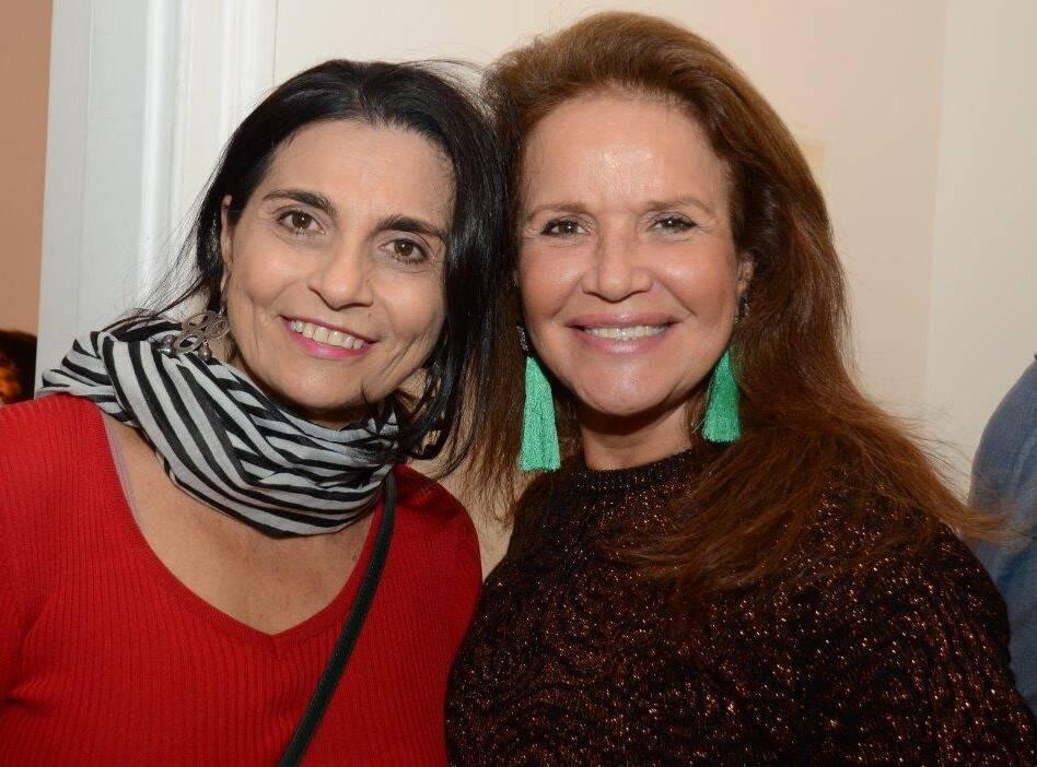 BB Schmidt e Marisa Graça /Foto: Marco Rodrigues