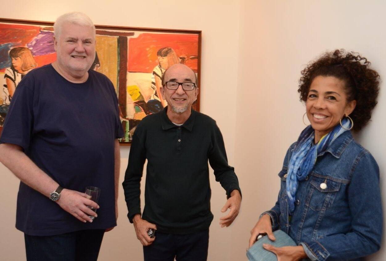 John Nicholson, Joaquim Ferreira dos Santos e Lilian Sapucahy /Foto: Marco Rodrigues