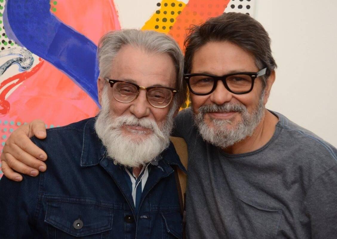 Jorge Calfo e Raimundo Rodriguez /Foto: Marco Rodrigues