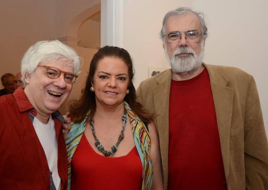 José Veras, Roma Drumond e Pedro Tebyriçá /Foto: Marco Rodrigues