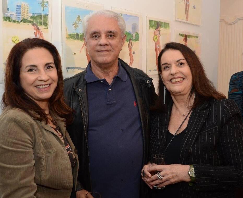 Lígia Teixeira, Mário Camargo e Marilou Winograd /Foto: Marco Rodrigues