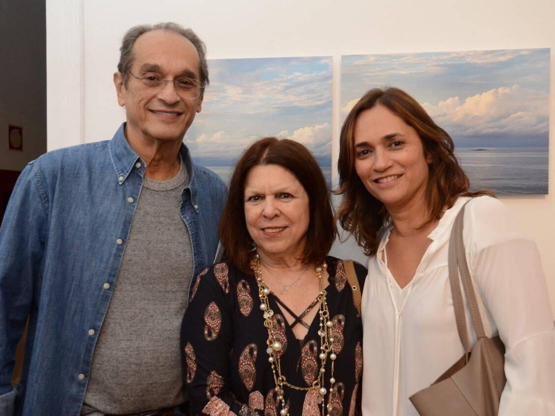 Luiz Eduardo Indio da Costa, Vanda Klabin e Gaby Indio da Costa /Foto: Marco Rodrigues