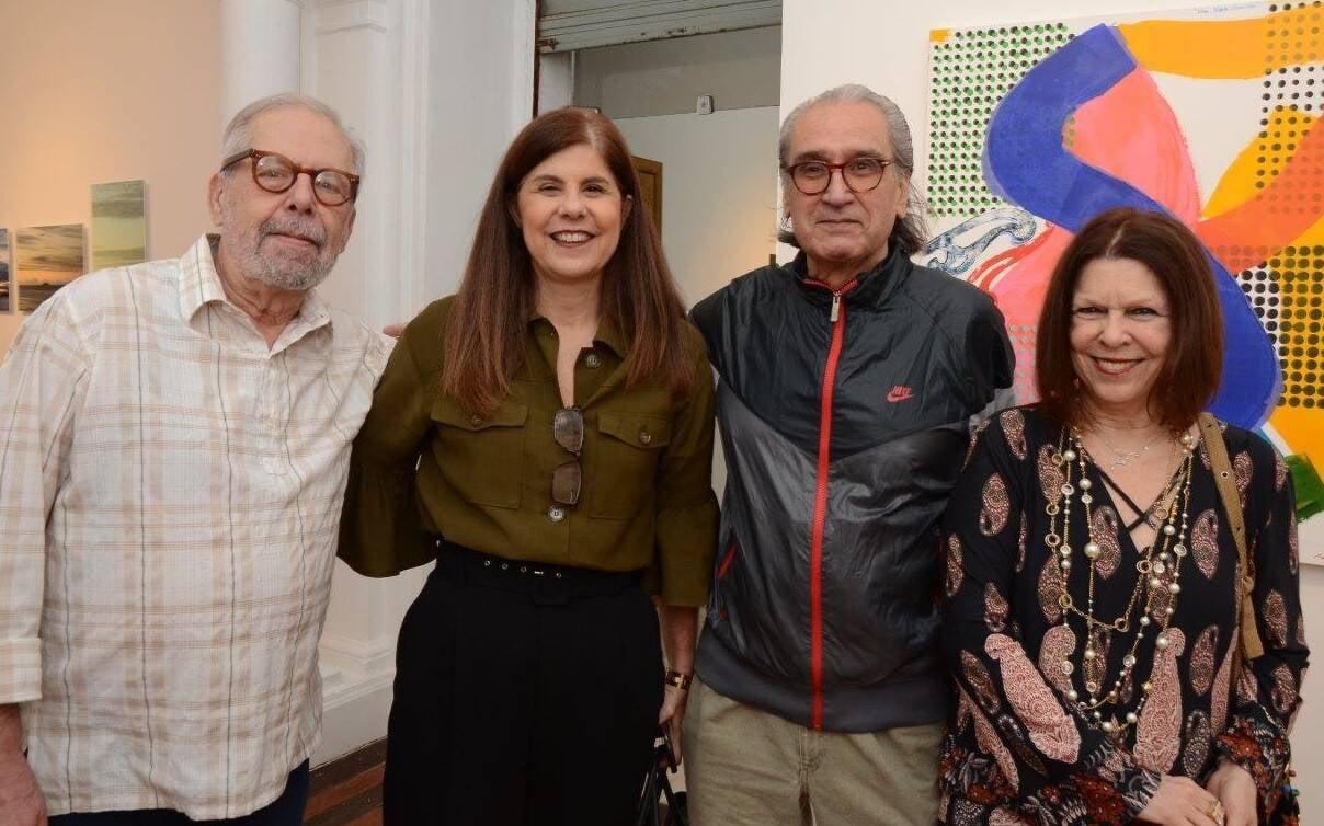 Luiz Áquila, Patricia Costa, Pedro Oswaldo Cruz e Vanda Klabin /Foto: Marco Rodrigues