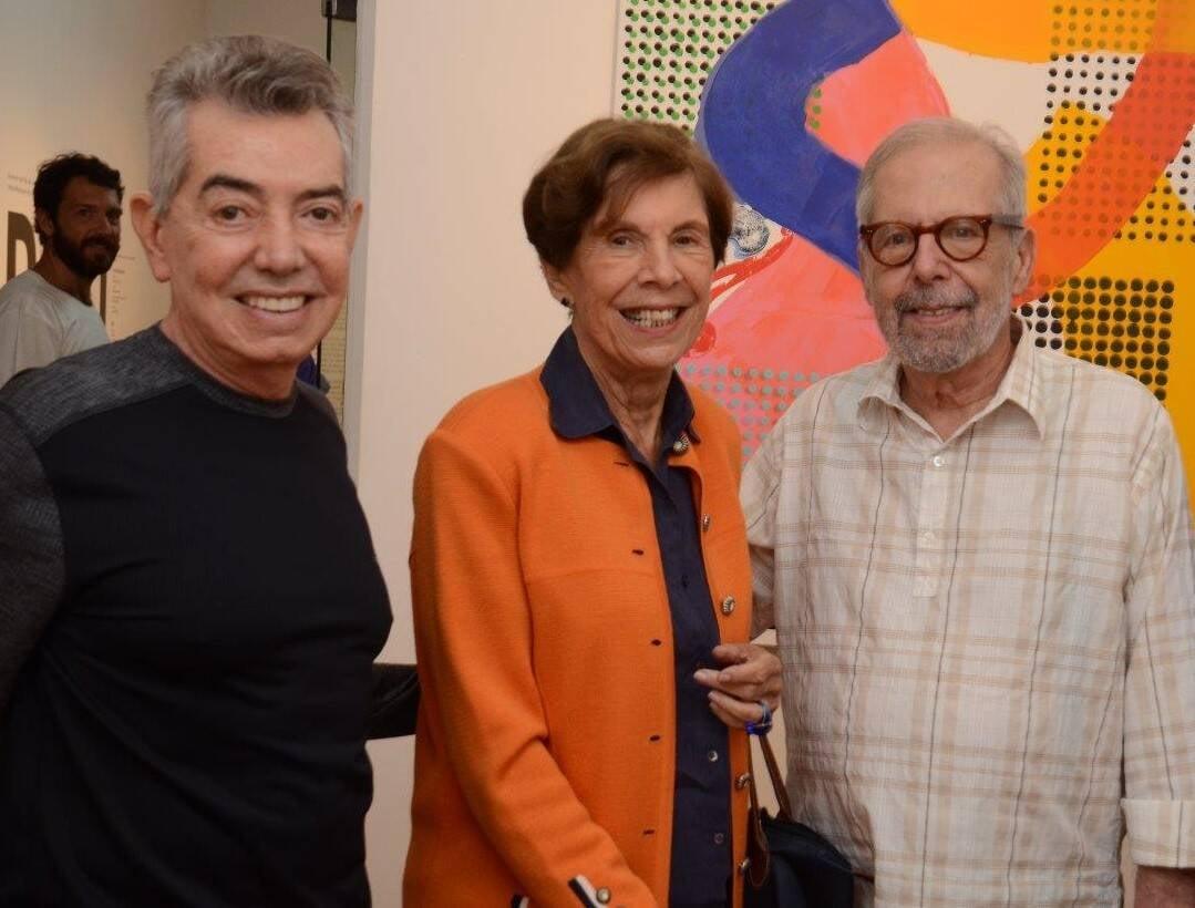 Marcos Duprat, Thereza Muniz e Luiz Áquila /Foto: Marco Rodrigues