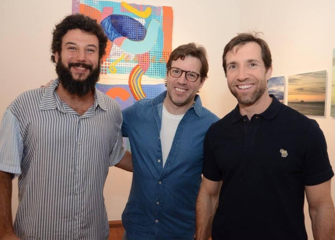 Os primos Pedro Mann, Bruno e Alexandre Klabin/Foto: Marco Rodrigues