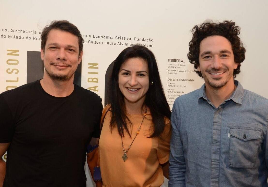 Rafael Megeto, Ana Maria Lima e Marcio Regaleira /Foto: Marco Rodrigues