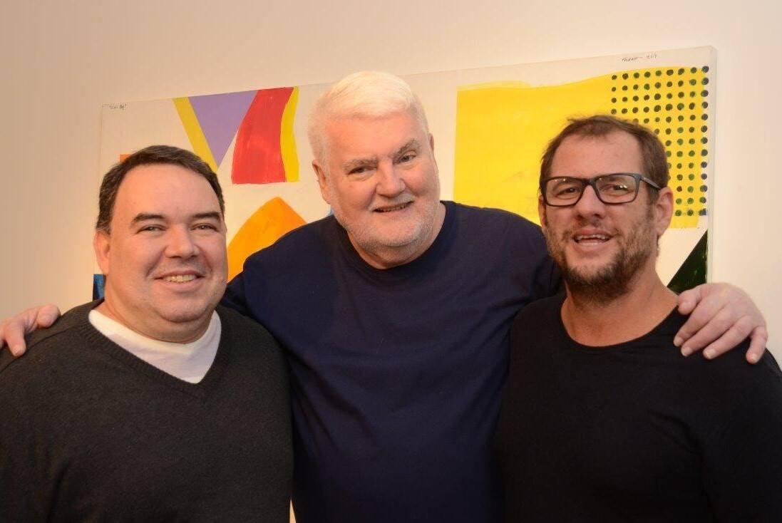 Roberto Barciela, John Nicholson e Bruno Schmidt /Foto: Marco Rodrigues
