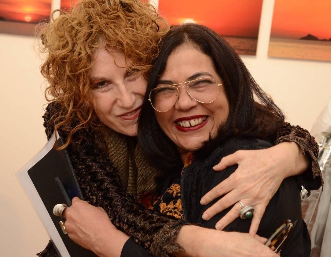 Susi Cantarino e Márcia Zoe /Foto: Marco Rodrigues