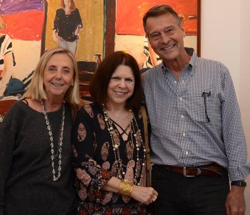Teresa Seiler, Vanda Klabin e Theo Seiler /Foto: Marco Rodrigues