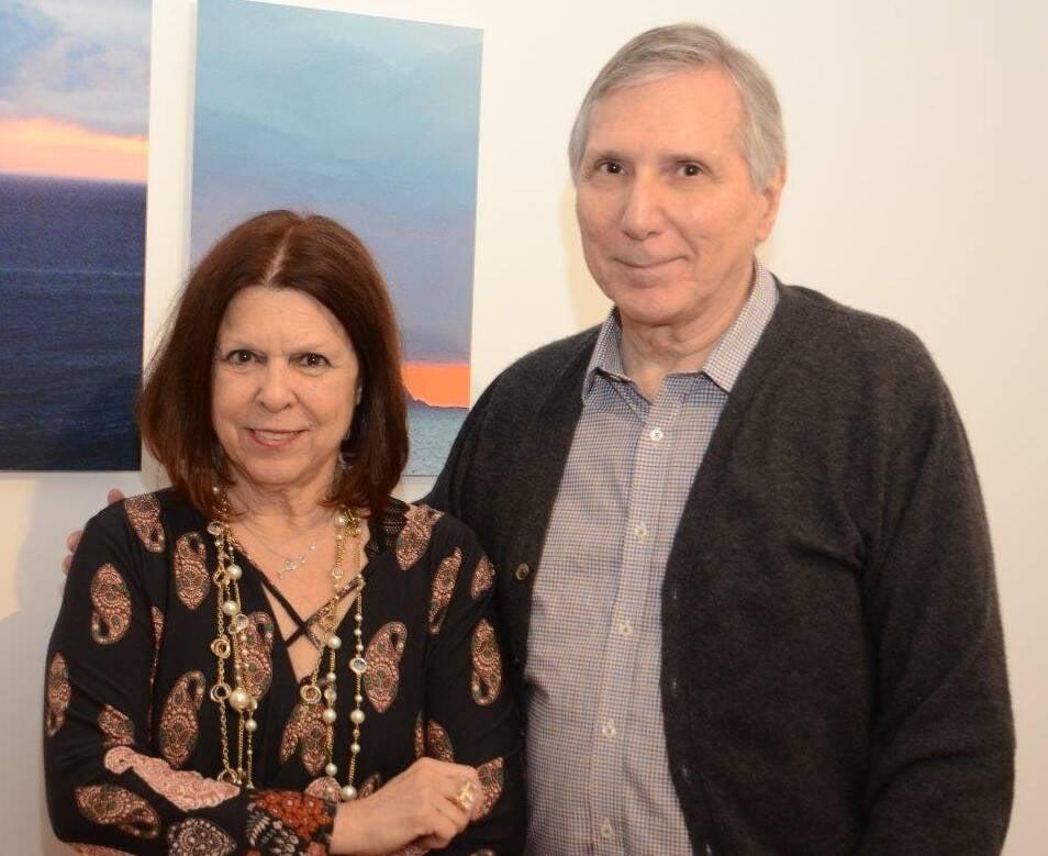 Vanda Klabin e Carlos Zílio /Foto: Marco Rodrigues