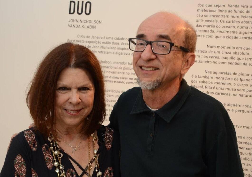 Vanda Klabin e Joaquim Ferreira dos Santos /Foto: Marco Rodrigues