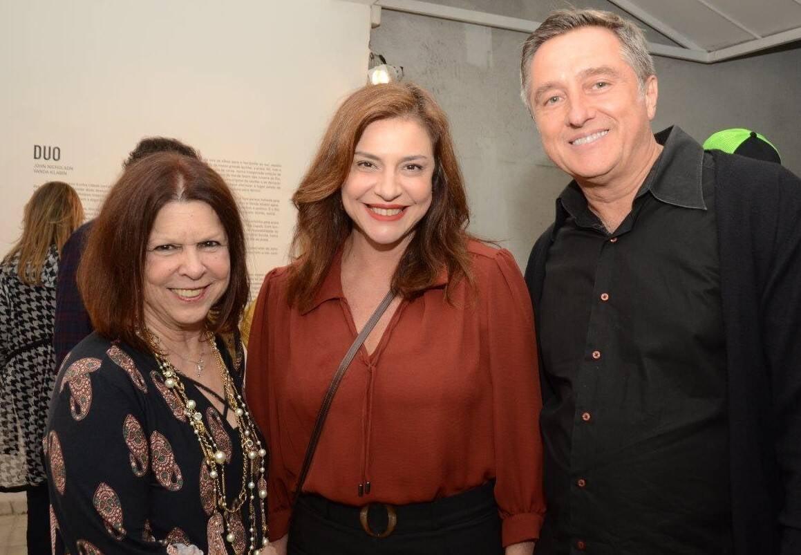 Vanda Klabin, Monica Sanches e Jefferson Svoboda /Foto: Marco Rodrigues