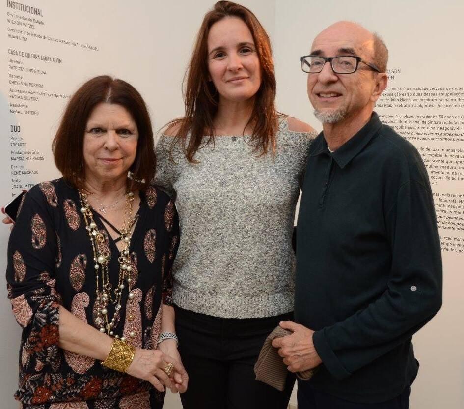 Vanda Klabin, Patricia Lins e Silva e Joaquim Ferreira dos Santos /Foto: Marco Rodrigues