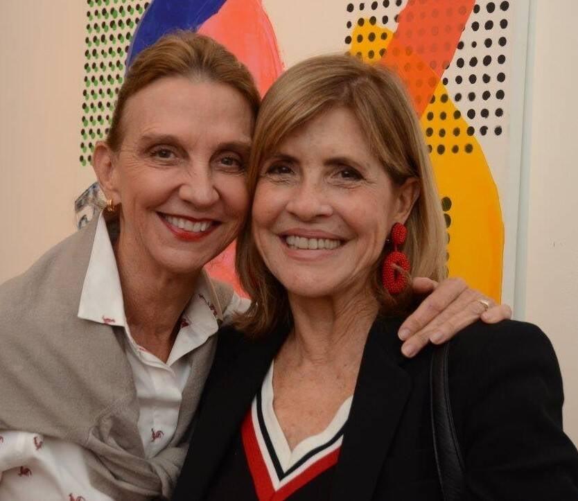 Viviane Hentsch e Claudia Tavares /Foto: Marco Rodrigues