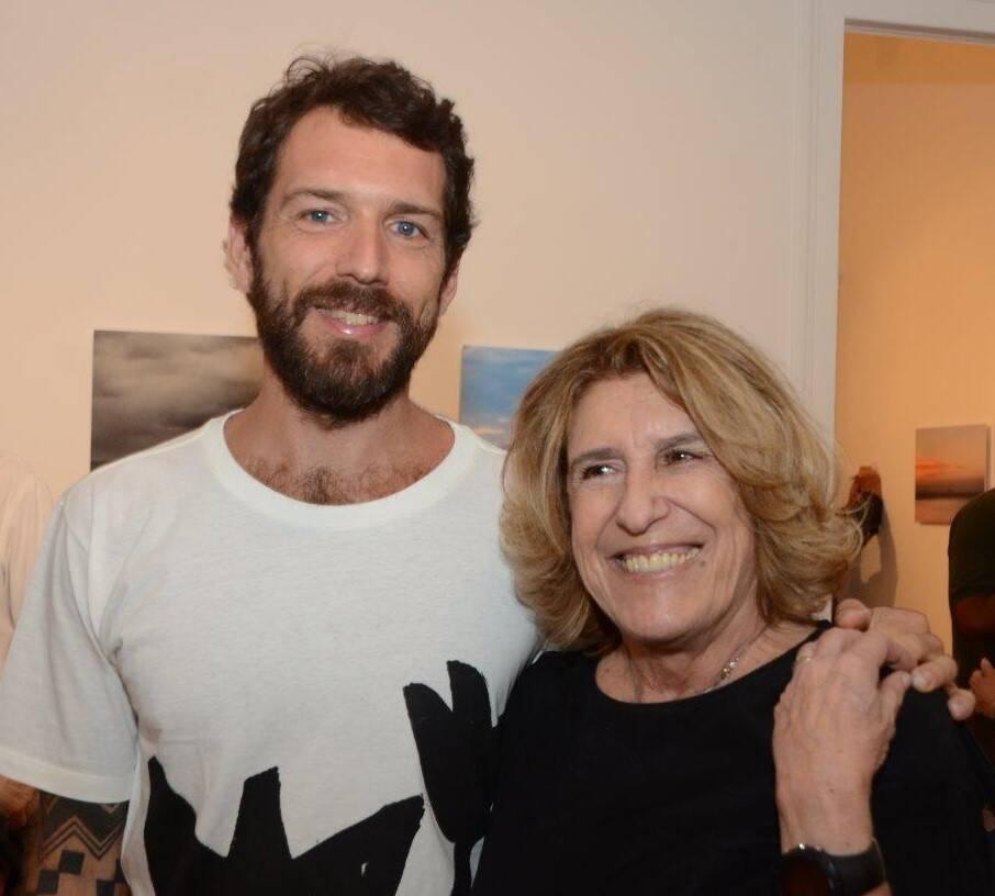 Antonio Bokel com a mãe, Sonia Ribeiro de Castro /Foto: Marco Rodrigues