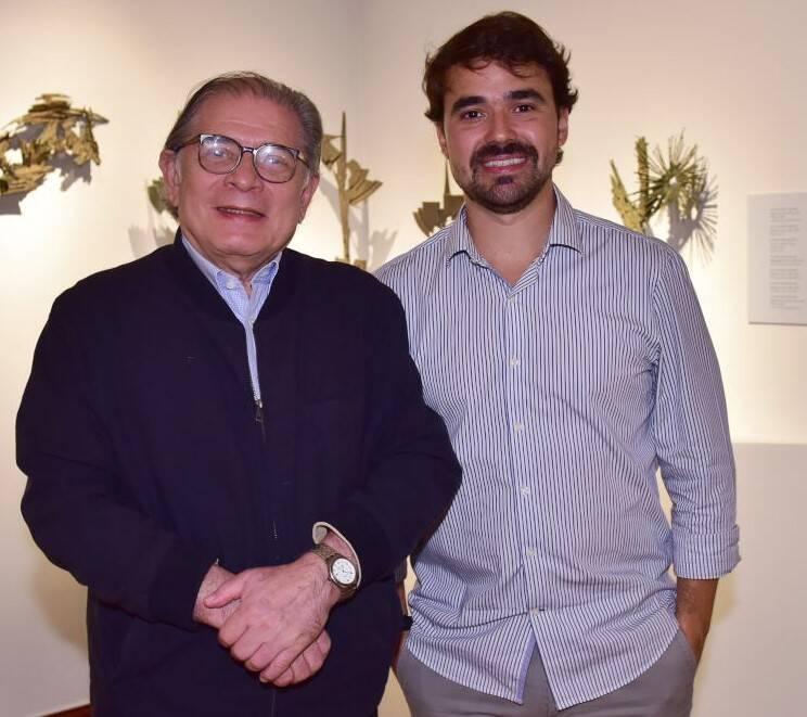 Luciano Figueiredo e Max Perlingeiro Filho /Foto: Paulo Jabur