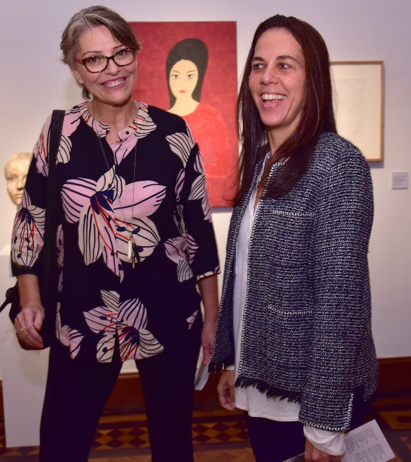 Cândida Sodré e Marta Fadel  /Foto: Paulo Jabur