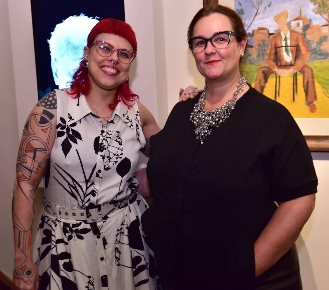 Adriana Cataldo e Camila Perlingeiro  /Foto: Paulo Jabur