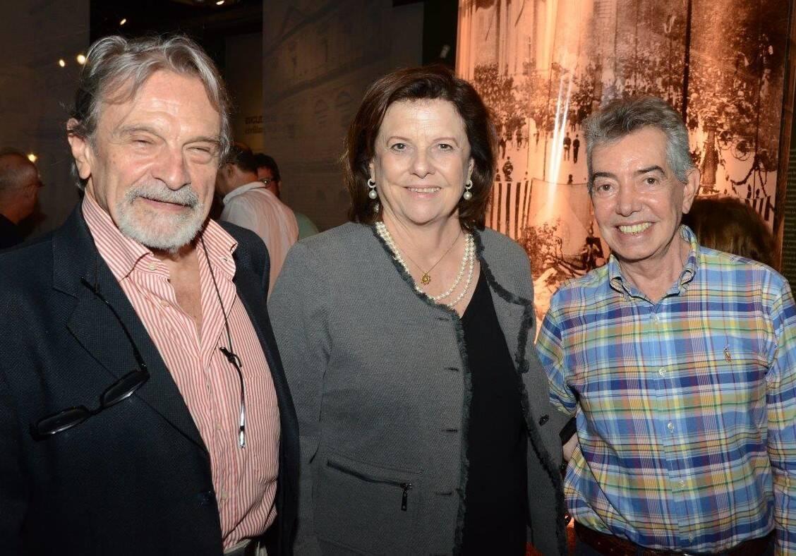 Alexandre Addor, Helena Severo e Marcus Drupat /Foto: Marco Rodrigues