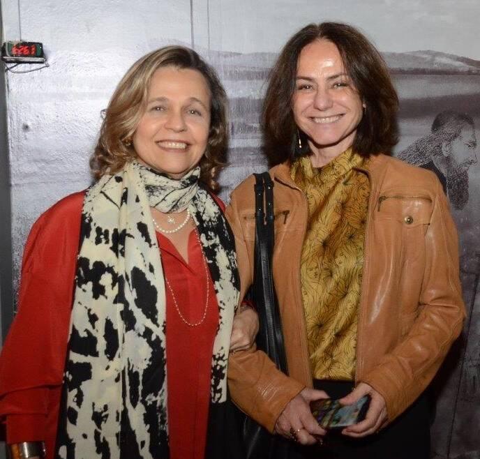 Maria Eduarda Marques e Claudia Jaguaribe  /Foto: Marco Rodrigues