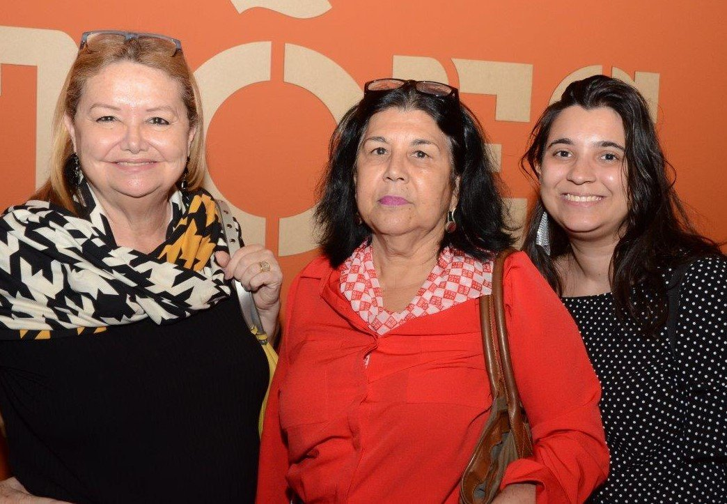 Maria Eugênia Silveira, Fátima Soeiro e Cristiane Soeiro  /Foto: Marco Rodrigues