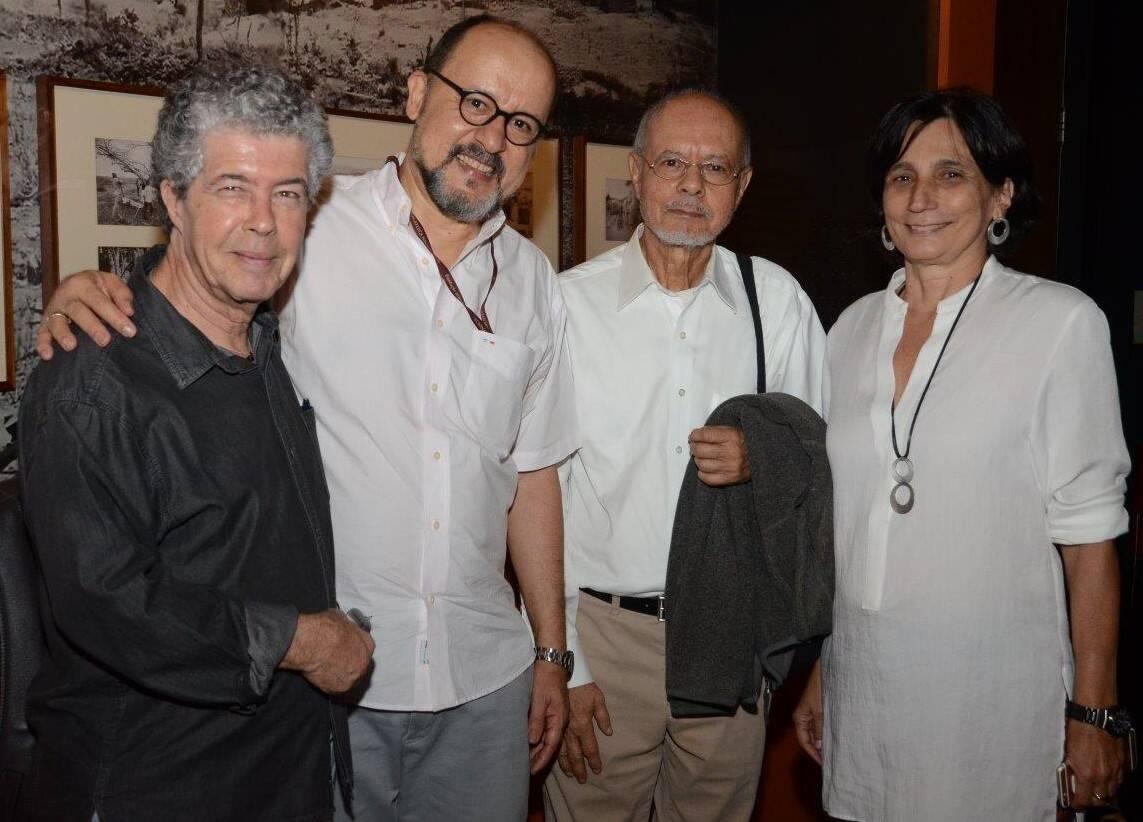 Newton Duran, Joaquim Marçal, Joaquim Paiva e Ester Lima  /Foto: Marco Rodrigues