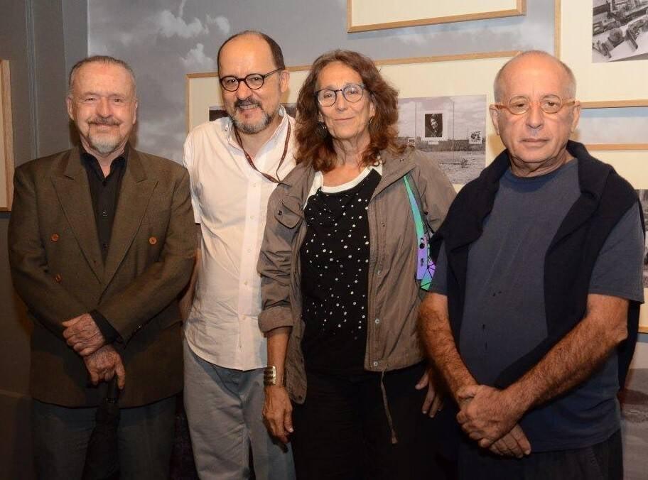 Ricardo Cravo Albim, Joaquim Marçal, Kitty Paranaguá e Celso Brandão  /Foto: Marco Rodrigues