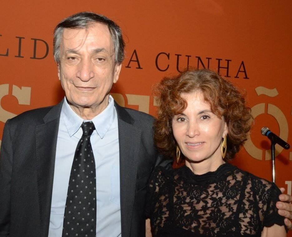 Antonio Cícero e Rosana Lanzelotte  /Foto: Marco Rodrigues